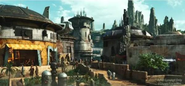 Star Wars Galaxy's Edge Hollywood Studios