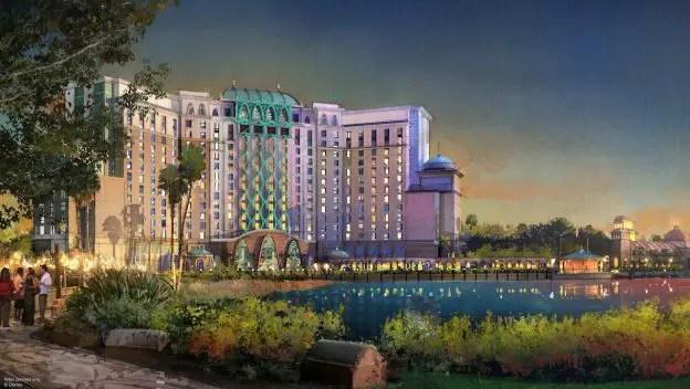 Gran Destino Tower at Disney's Coronado Springs Resort Scheduled to Open