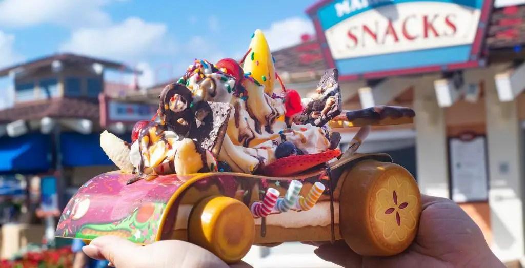 Build-Your-Own Vanellope Von Schweetz Sundae Tomorrow At Disney Springs