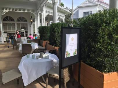 Grand Floridian Cafe Adds New Outdoor Seating Area