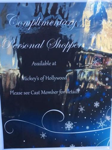 Walt Disney World is Currently Testing a Personal Shopper Service 3
