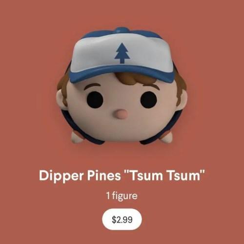 New Virtual Gravity Falls Tsum Tsum On Quidd App 4