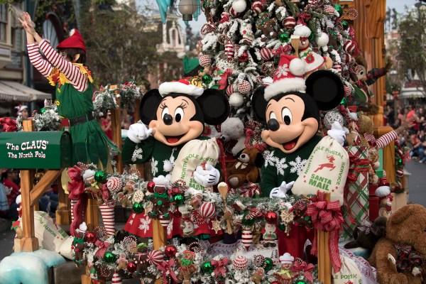 Christmas Day Parade from Disney Parks