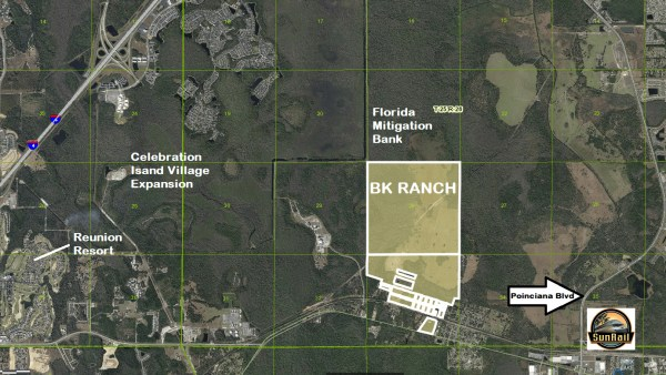 Disney buys the BK Ranch in Clebration