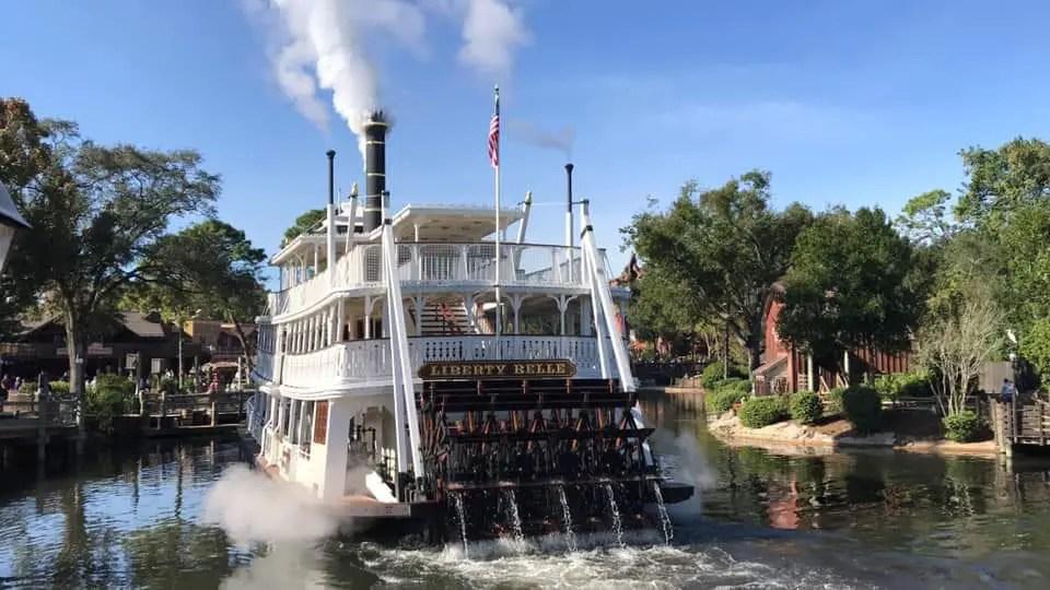 Liberty Belle River Boat Running at Magic Kingdom but Still Not Open