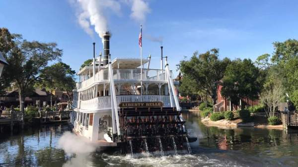 Liberty Belle in operation