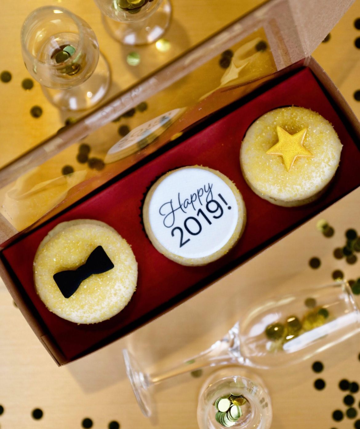 'New Years Eve' Cupcake Now Available at Sprinkles For a Limited-Time