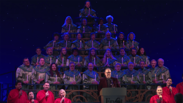 Candlelight Processional Narrator Speaks About New Disney Holiday Traditions With Family 1