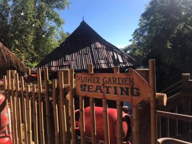 Drinkwallah lower garden seating