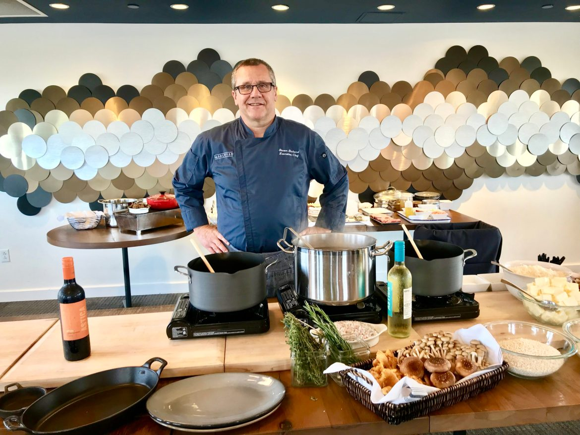 Paddlefish Holiday Cooking Class Hosted by Executive Chef Steve Richard