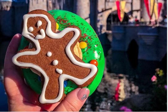 Donuts and Gingerbread Man: Disneyland Resort's Unique Holiday Treat Is Instagram Worthy
