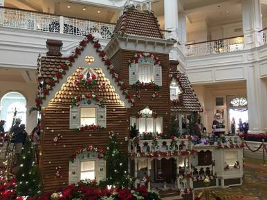 Grand Floridian Gingerbread House Display
