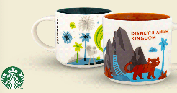 Starbucks You Are Here Collection Now Available on shopDisney!