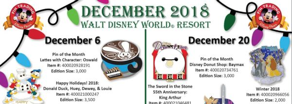 December 2018 Pin Releases Have Us Reaching For Our Wallets