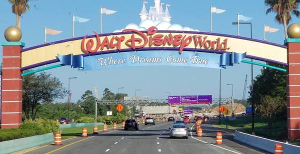 More Road Closures at Walt Disney World!