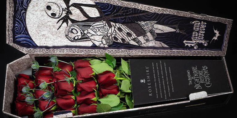 Nightmare Before Christmas Roses from Roseshire are to die for!