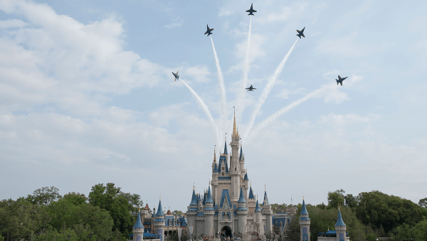 Walt Disney World Fly Over