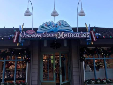 The New Spunky Stork Inside Wonderful World of Memories is Now Open.