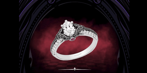 The Disney Villains Engagement Rings Are Wickedly Spectacular