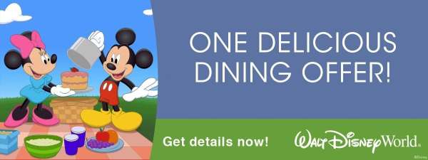 Walt Disney World Releases Free Dining Promotion for Summer 1
