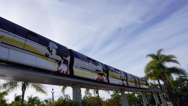 Disneyland Debuts 90th Anniversary Mickey Mouse Monorail Wrap
