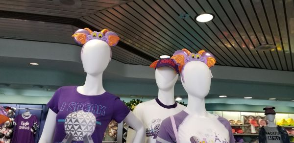 It's Not Your Imagination, Figment Mouse Ears Are Now At Epcot 3