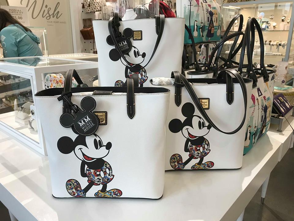 Mickey Mouse Through the Years Tote by Dooney & Bourke