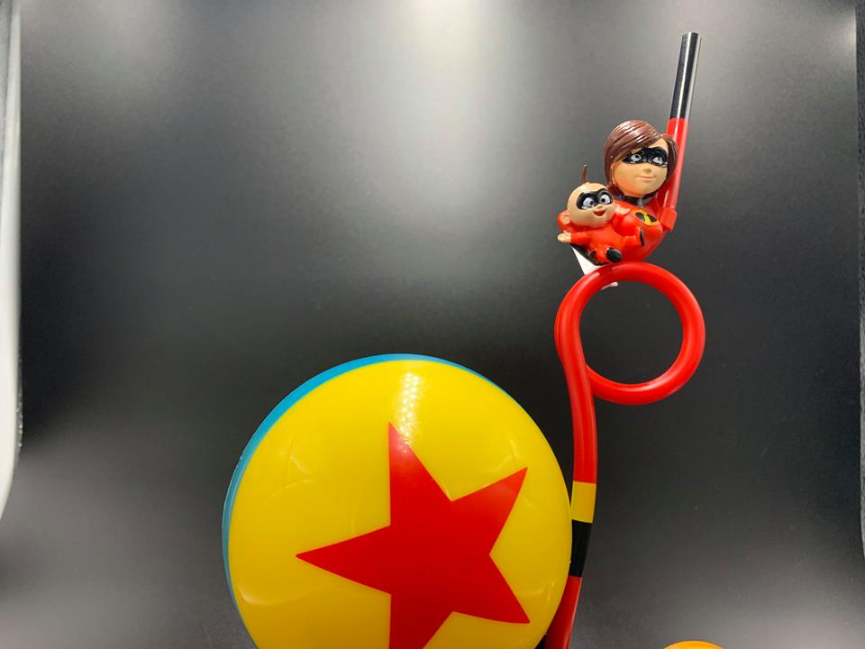 The Incredibles Souvenir Straw Is Now Available At Hollywood Studios