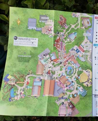 New Hollywood Studios Maps