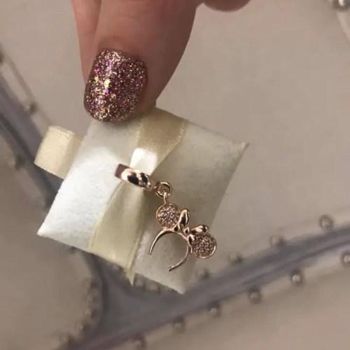 Dazzling New Rose Gold Minnie Charm From Pandora 1