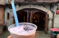 Enchanting Lavender Milk Tea Available at Disneyland