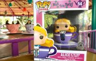 Alice At The Mad Tea Party Funko POP Spinning Into The Disney Parks Soon