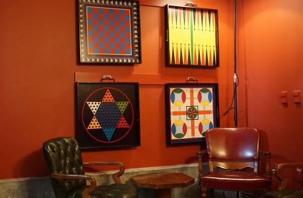 A Look Inside Lamplight Lounge's Secret Room
