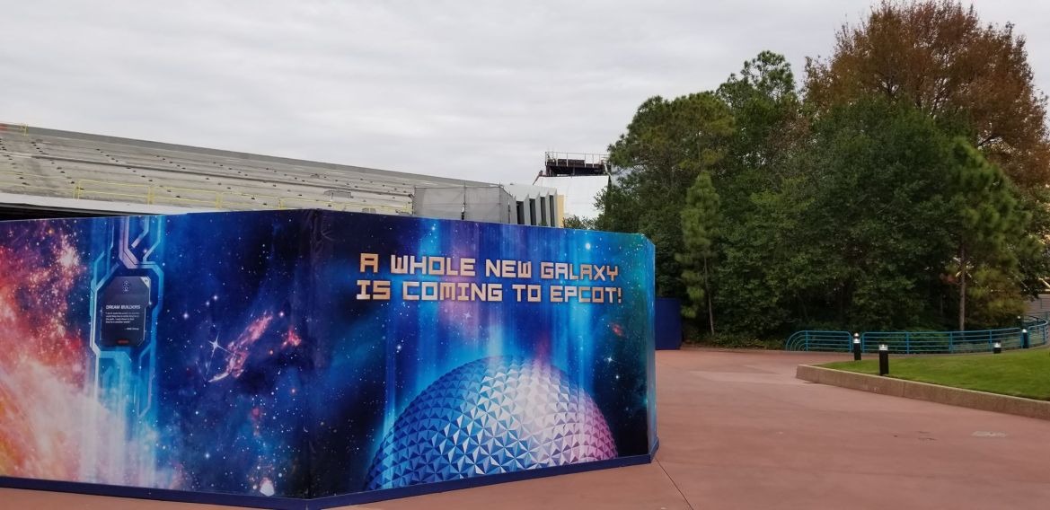 Construction Update: Guardians Of The Galaxy Coaster Building Gets Outer Walls