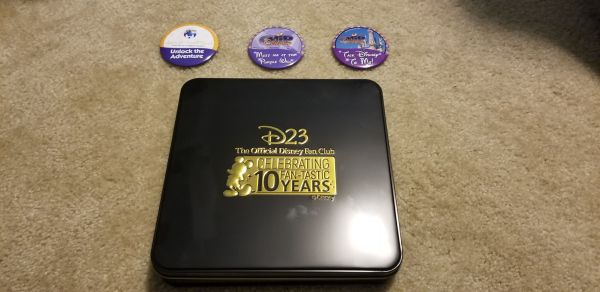 D23 Celebrates 10-Year Anniversary with Gold Member Giftset