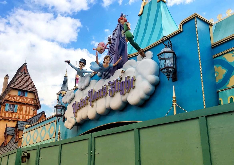 Peter Pan's Flight Closed For Refurbishment