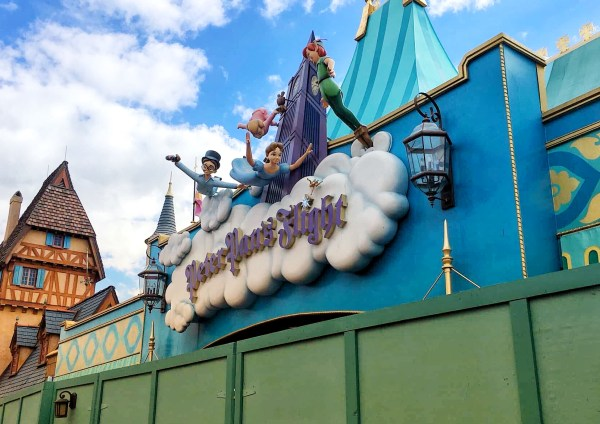 Peter Pan's Flight Closed