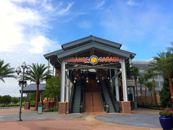 Disney Springs Orange Garage