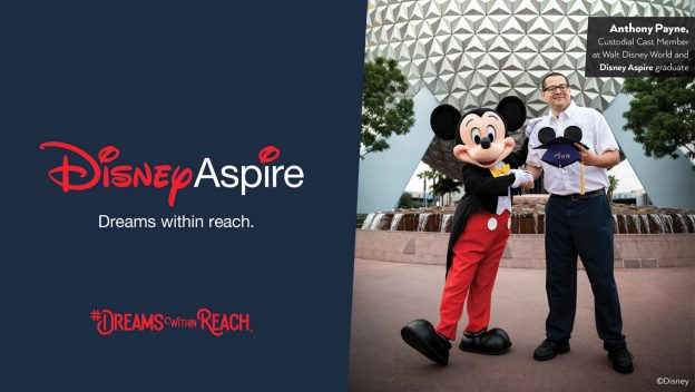 Dreams Within Reach For First Graduate Of Disney Aspire Education Program