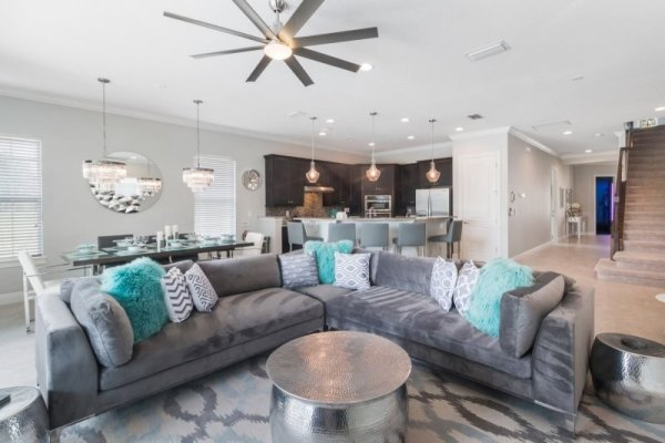Fun House Living Area