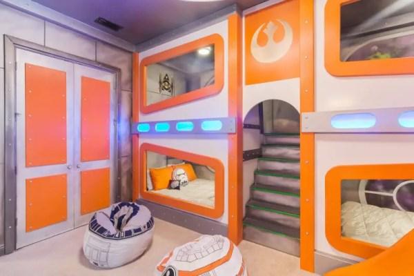 Fun House Star Wars Room