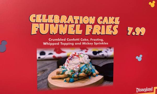 Celebrate Mickey's Anniversary with Funnel Cake Fries 1