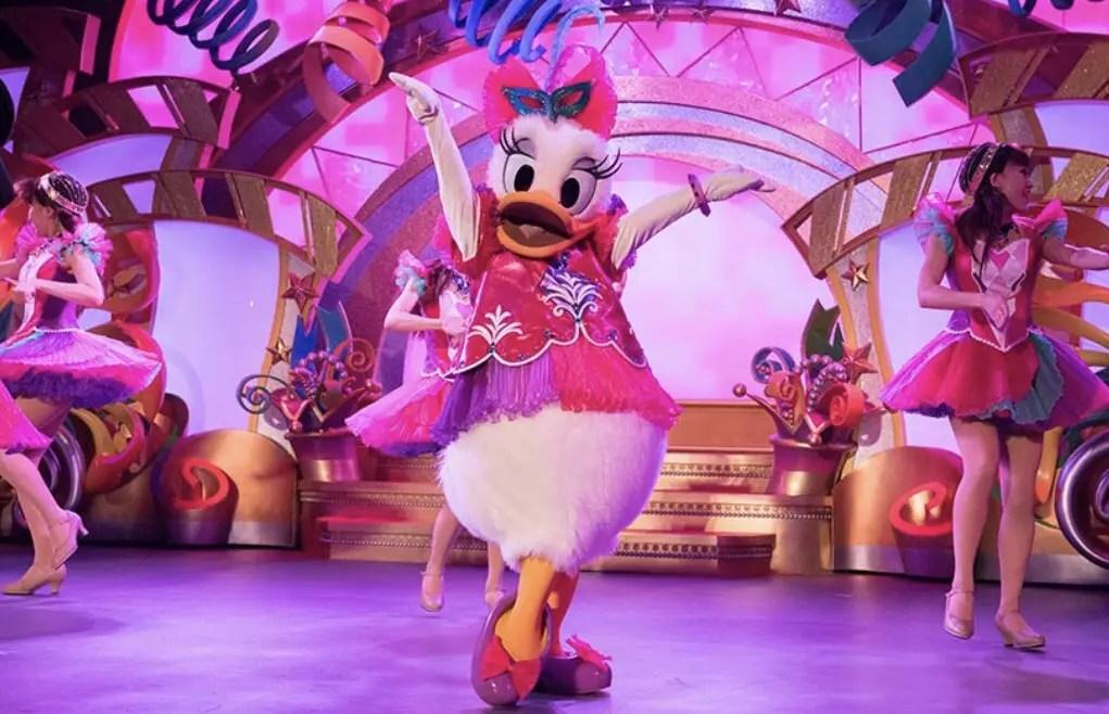 "Tokyo Disneyland Celebrates Daisy Duck at ""Let's Party Gras!"""