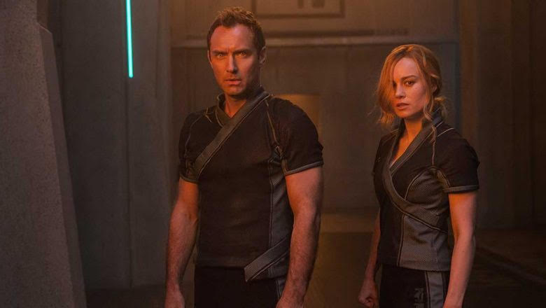Captain Marvel's Jude Law Answers Questions Regarding His Latest Role