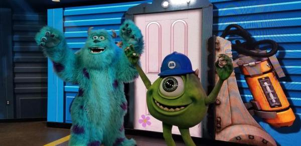 Monsters Inc. Meet and Greet at Hollywood Studios