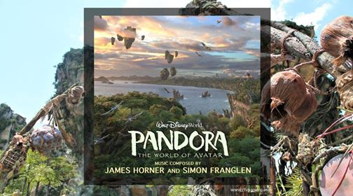 New Theme Park Music Album Released with Music from Pandora - The World of Avatar