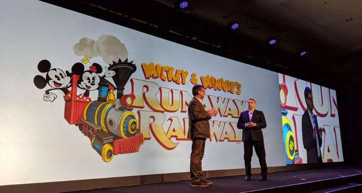 Disney and Panasonic, Perfect Partnership For New Mickey Themed Ride