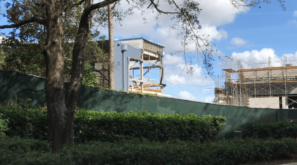 Construction Continues on the Space 220 Restaurant at Epcot 1