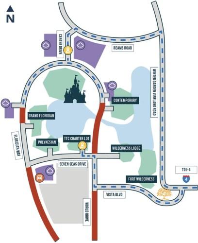 Marathon Weekend to Impact Several Roads at Walt Disney World 1