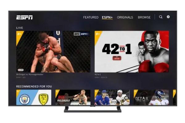 ESPN+ personalization app